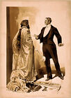 Photo Printed Old Poster Theatre Flyer Where Do You Propose To Pass The Night 01
