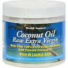 Health Support Coconut Oil,Raw,Unrefined, 15.3 Ounce (Pack Of 3)