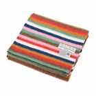Heritage of Scotland Multi Coloured Felted Lambswool Knitted Scarf