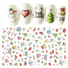 Fashion Nail Art Transfer Stickers 3D Manicure Tips Decal DIY Decorations Tool