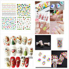 Unique Nail Art Transfer Stickers 3D Manicure Tips Decal DIY Decorations Tools