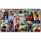Grand Theft Auto V Art Silk Print Fabric Poster Game Hot GTA 5 For Wall Decor