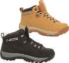MENS LIGHTWEIGHT LEATHER SAFETY STEEL TOE CAP HIKING WALKING WORK BOOTS TRAINERS