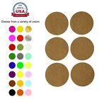 """Permanent Adhesive Dots Moving Labels Round 2"""" Color Stickers 72 Pack"""