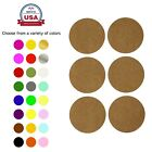 "Colored Dot Stickers Adhesive Label Round 50mm Permanent Labels 2"" 180 Pack"