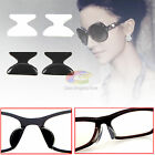 5Pair Stick On Silicone Nose Pads Holders Eyeglass Sunglasses Glasses Spectacles