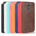 Crocodile PU leather hard back shell case cover For LG G Stylo 3/Stylus 3 LS777