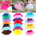 Girls Childrens Kid Tutu Dancewear Skirt Fancy Party Ballet Dance Skirts