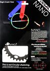5G NANO DOVAL MTB Micro OCP SNW Single Chainring for Shimano/etc..