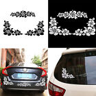 Hawaiian Hibiscus Flower Auto Car Mirror Window Body Sticker Scratch Cover Decal