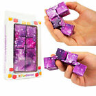 Sensory Infinity Cube Stress Fidget Toys for Autism Anxiety Relief Kids Adult UK <br/> UK SELLER✅FREE UK DELIVERY✅20 CHOICES✅CHILDREN + ADULTS