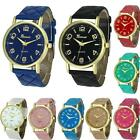 Women Fashion Geneva Faux Leather Band Analog Quartz Wrist Watch Watches günstig