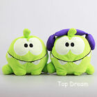 New Cut the Rope Hungry Om Nom Headphones Plush Toy Stuffed Doll 8'' Xmas Gift
