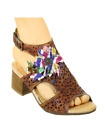 Spring Step L'Artiste Collection Paopao Women's Sandals Camel Multi EU 37 US 7