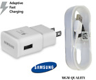 New OEM Samsung Galaxy S6 S7 Edge Note 4 5 White Adaptive Fast Rapid Charger Lot