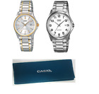 Casio Gents Analogue Dial Bracelet Round Quartz  Water Resistant Watches