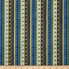 EXOTIC STRIPE QUILT SEWING FABRIC *Free Oz Post