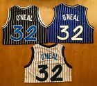 NWT Shaquille ONeal 32 Orlando Magic Throwback Basketball Jersey Stitched Men
