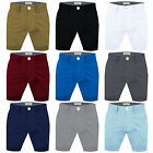 Mens Chino Shorts Summer Cotton Twill Cargo Combat Jeans Half Pants Casual New.