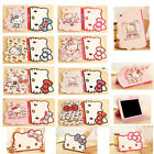 3D Bow Kitty Cartoon Smart Cover Leather Stand Cover Case For iPad Mini Pro 2017