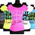 Fashion Collection Seamless Short Sleeve Top in 6 Colors