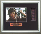 RAMBO - FIRST BLOOD    Sylvester Stallone    FRAMED MOVIE FILMCELLS