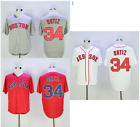 David Ortiz 34 Boston Red Sox Baseball Men Adult Jersey Home Away RedSox