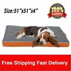 Lot Extra Large Orthopedic Dog Bed Removable Cover Washable Cover Durable Pet BT