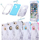 Fashion Marble Pattern Full Hard TPU Phone Case Cover For Apple iPhone 6 6s Plus
