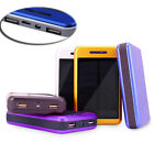 Waterproof 200000mAh Portable Solar Charger Dual USB Battery Power Bank F Phone