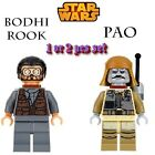 New Star Wars Bodhi Rook Pao Rogue One Minifigures Building Blocks Gift $4.61 CAD
