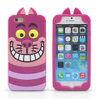 For iPhone4 4G 4S Hot 3D Cute Cartoon Soft Silicone Animal Phone Case Cover Back