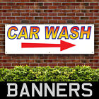 Car Wash Arrow Right Direction PVC Banner Outdoor Signs (BANPN00256)
