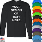 Custom Personalized. Your text, Photo, Logo. Top Quality Long Sleeves Shirts