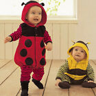 Baby Boy Girl Halloween Fancy Dress Party Costume Jumpsuits Rompers Cute Bee New
