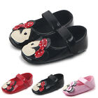 Toddler Girl Crib Shoes Newborn Baby Leather Soft Sole Prewalker Sneakers 0-12M