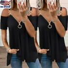 sexy white shirt - Sexy Women Blouse T Shirt V Neck Long Sleeve Button Tee Ladies Casual Slim Tops
