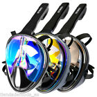 Swimming Diving Full Face Snorkel Scuba Mask Surface Anti-Fog for GoPro S/M/L/XL