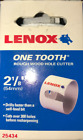 "Lenox 25434-34HC One Tooth Rough Wood Hole Cutter 2-1/8"" (54mm)"