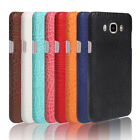Crocodile leather hard back shell case cover For Samsung Galaxy J5 (2016) J510