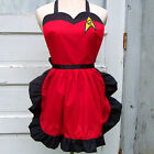 Red Star Trek Apron Engineering Uniform Cosplay Costume Gift Convention Trekkie