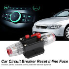 20-60A Car Audio Inline Circuit Breaker Fuse System Protection 12V Waterproof LJ