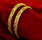 Traditional Gold Plated Women Bridal Wedding Bangle Bracelet Set Party ewelry
