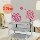 Metal-Shoes-Rack-Stand-Storage-Organizer-Fabric-Shelf-Holder-Stackable-Closet-BP