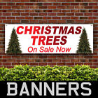 Christmas Trees PVC Banner Printing Pub Shop Xmas On Sale Now Signs (BANPN00251)