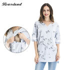 Maternity Floral Prints Breastfeeding function Clothes and Nursing Summer Top