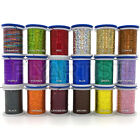 VEEVUS FLAT HOLOGRAPHIC TINSEL - Small Medium Large / 18 Colors - Fly Tying NEW!