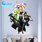 Anime Wall Sticker Sword Art Online Asuna Kirito Decal Car Wall Decor sticker