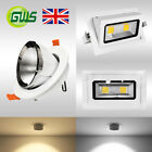 LED Gimbal Light Commercial Directional Adjustable Scoop Retail Downlight IP44