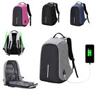 Antitheft Travel Backpack Business Laptop Book School Bag with USB Charging Port